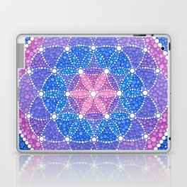 Starry Flower of Life Laptop & iPad Skin