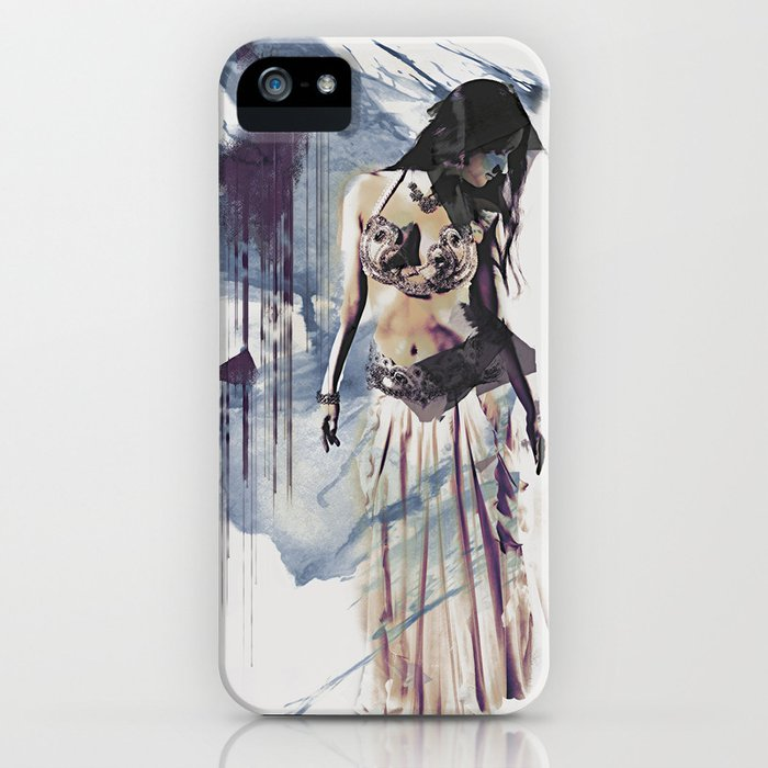 Bellydancer Abstract iPhone Case