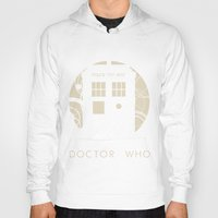 doctor who Hoodies featuring Doctor Who by LukeMorgan