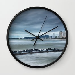 Morning Skyline Nha Trang Vietnam Wall Clock