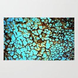 Copper crackle Rug
