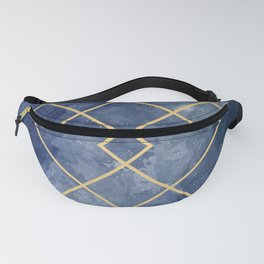 Space geometric Fanny Pack