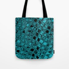 Metallic Teal Tote Bag