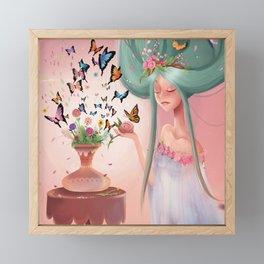 Mariposa Framed Mini Art Print