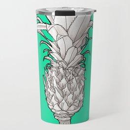 Pineapple - Ananas Arising tropicalteal Travel Mug