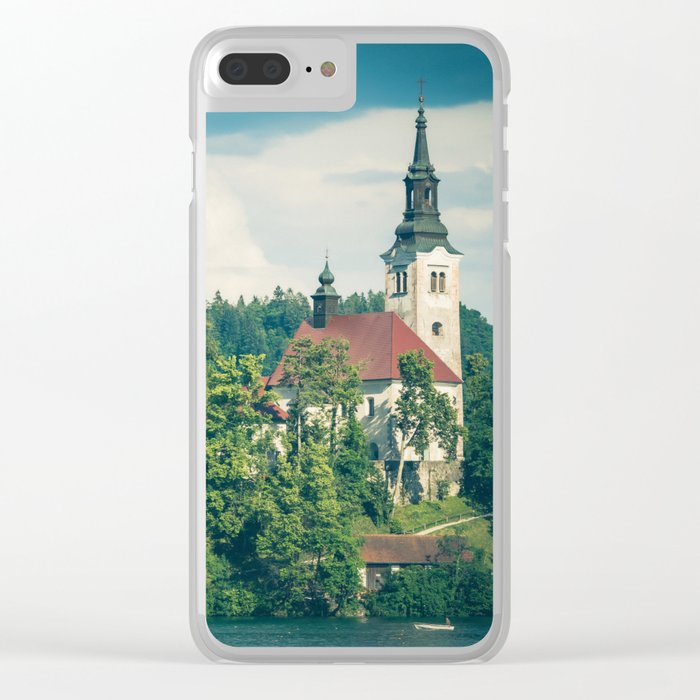 Lake Bled, Slovenia 1 Clear iPhone Case