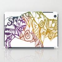 bison iPad Cases featuring Bison. by Stefani Reeder