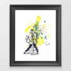 Elvis Presley Dancing Framed Art Print