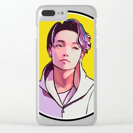 iKON Rainbow - Bobby Clear iPhone Case