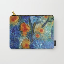 Over Bloom Carry-All Pouch