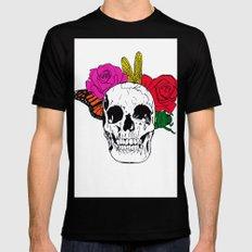 Skull I Mens Fitted Tee Black MEDIUM