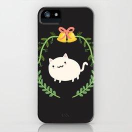 Wreath + Cat iPhone Case