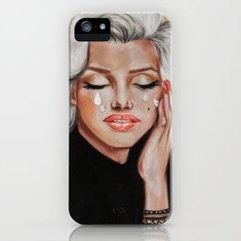 Diamond tears iPhone Case