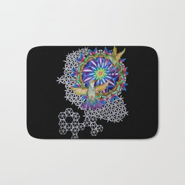 Breathe and Be Bath Mat