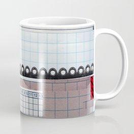 rainbow grid Coffee Mug