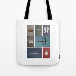 Walking Dead (colors) Tote Bag