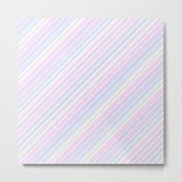 Just Stripes 6 Metal Print