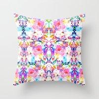 arab Throw Pillows featuring Arab Sunset by Yaz Raja Designs