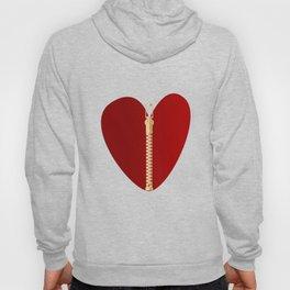 Zipper Heart Hoody