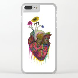 The Heart of Nature Clear iPhone Case