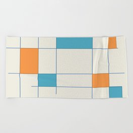 Mid-Century Modern Art 2.5 Beach Towel