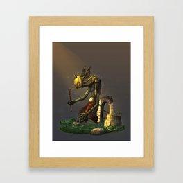 Colossal Imp Framed Art Print