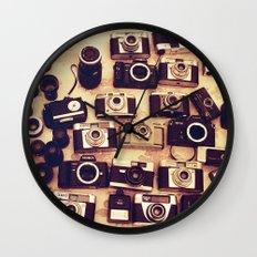 I love analogue photography Wall Clock