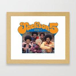 Jackson 5 Framed Art Print