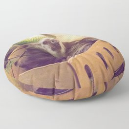 Sloth in a Box Floor Pillow