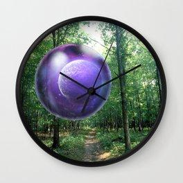 Crystal Ball Wall Clock