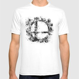 Super Smash Bros Ink Splatter T-shirt