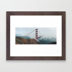 California Bridge photo Framed Art Print