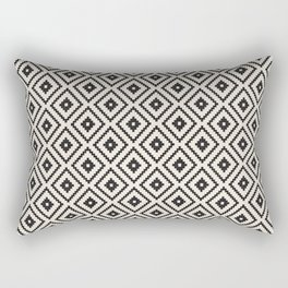 N89 - Farmhouse & Rustic Moroccan Style Pattern Design. Rectangular Pillow