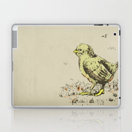 feel the earth tremble (or monster chick) Laptop & iPad Skin
