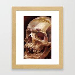 Southold Skull Framed Art Print