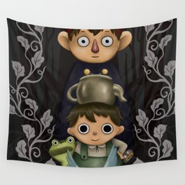 Over the Garden Wall. Wall Tapestry