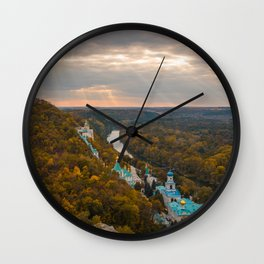 Holy Mountains Monastery (Ukraine) Wall Clock