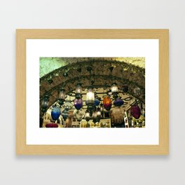 Turkish Lanterns! Framed Art Print