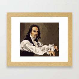 Alexander Hamilton Framed Art Print