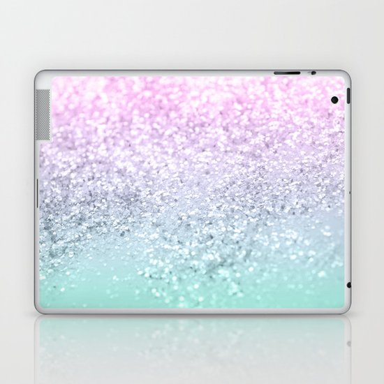 Mermaid Girls Glitter #1 (2019 Pastel Version) #shiny #decor #art #society6 by anitabellajantzart