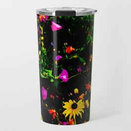 PsychoActive Flowers Travel Mug