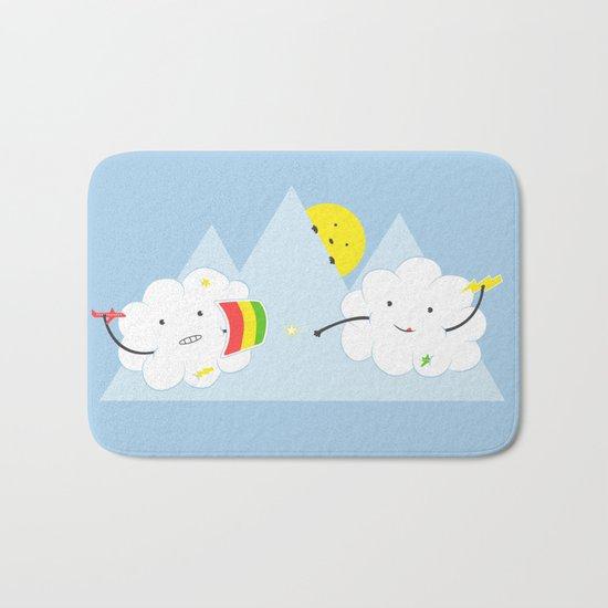 Cloud Fight Bath Mat