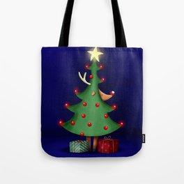 Rudolph the reindeer Tote Bag