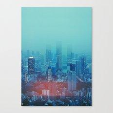 Nightcity Canvas Print
