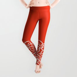 Iconia Girls - Hanna Red Leggings