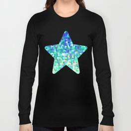 Mosaic Sparkley Texture G149 Long Sleeve T-shirt