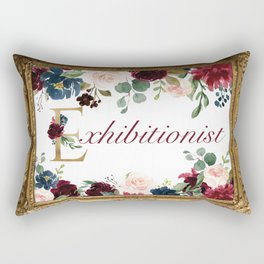 Exhibitionist II Rectangular Pillow