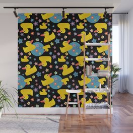 Rubber Duckies Wall Mural