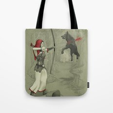 Little Red Robin Hood Tote Bag