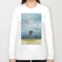 runner Long Sleeve T-shirts featuring Runner by Tony Vazquez